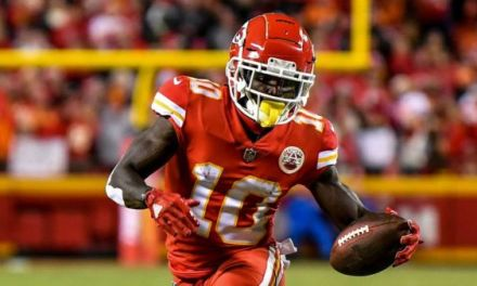 Chiefs WR Tyreek Hill is Under Investigation for an Alleged Battery Involving a Child