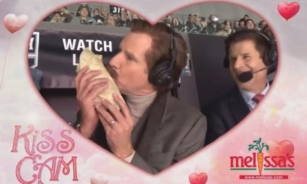 Will Ferrell Called Kings Game as Ron Burgundy