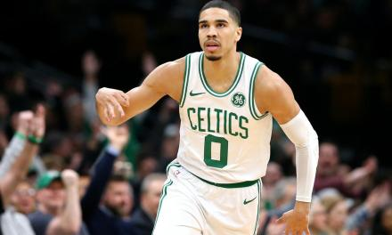 Jayson Tatum is Definitely All Boo'd UP With This Famous Singer