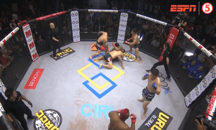 3 on 3 Mixed Martial Arts Fight Causes Storm Online