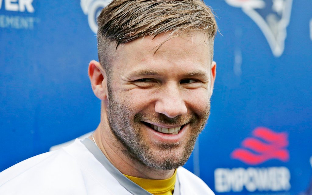 Julian Edelman Spotted Getting Close With Model at Photo Shoot