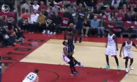 Kyle Lowry Sacrificed His Groin Taking a Charge