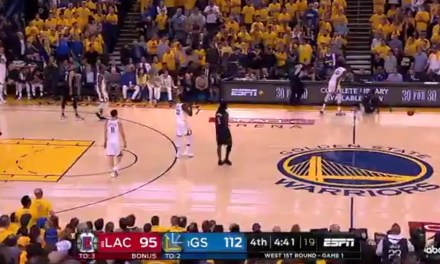 Patrick Beverley and Kevin Durant Were Both Ejected from Game 1 of the Clippers-Warriors Series