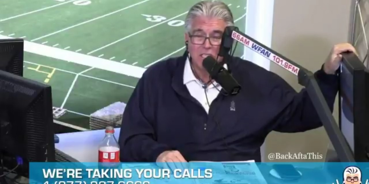 Mike Francesa's Tiger Woods Has No Shot at Winning The Masters Take Was a Little Off