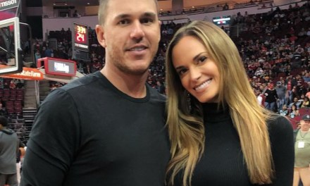 Brooks Koepka Shows Off His New Physique with His Topless Girlfriend Jena Sims