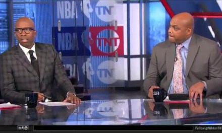 Charles Barkley Tells Kenny Smith He's Going to Slap the Hell Out of Him on National Television