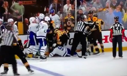 Bruins Captain Zdeno Chara Dropped Maple Leafs Star John Tavares With a Sucker Punch