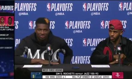 Rockets Big Man Clint Capela Wants the Warriors