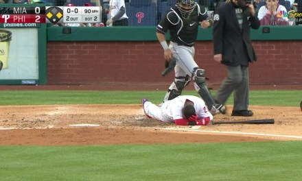 Jean Segura Left Marlins and Phillies Game Early After Taking a 90 MPH Fastball to the Helmet