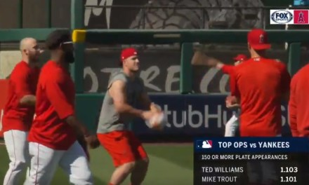 Mike Trout's Basketball Shot Has Been Exposed