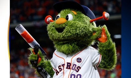 Astros Fan Jennifer Harughty Sues For $1 Million Claiming Mascot's T-Shirt Cannon Broke Her Finger