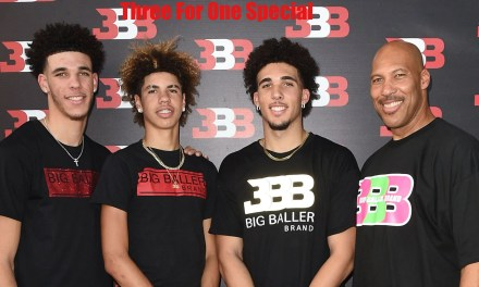 LaVar Ball Trying to Bundle His Three Sons Together for Representation