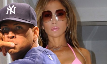 A-Rod Drops Another Thirsty Comment on J. Lo's Latest for 'Hustlers' Movie
