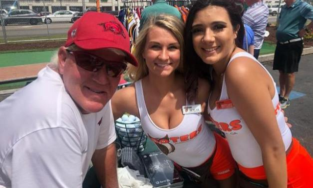 John Daly Kicked Off Masters Week By Autographing a Woman's Butt