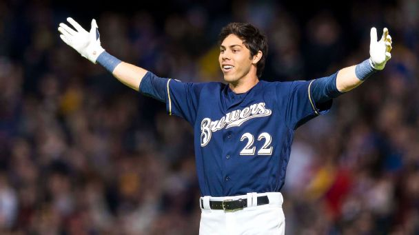 NL MVP Christian Yelich Hit Two More Home Runs, Closing in on Record