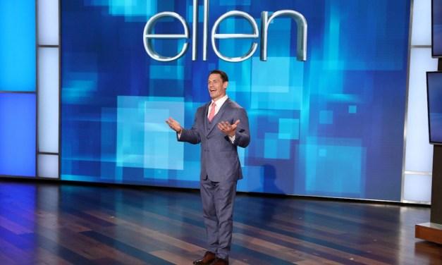 John Cena Guest Hosts 'EllenMania 35'