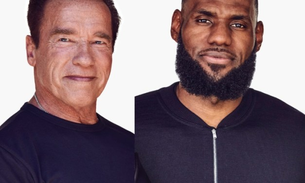 LeBron James Teams Up with Arnold Schwarzenegger to Pitch New Product