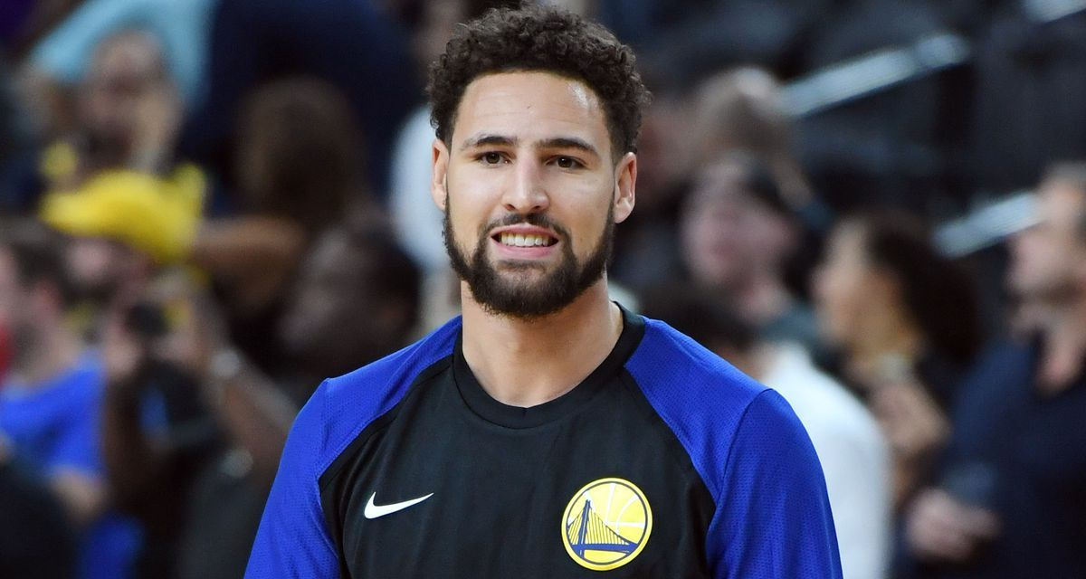 best loved 803d4 31292 Klay Thompson Isn't Happy with the Warriors