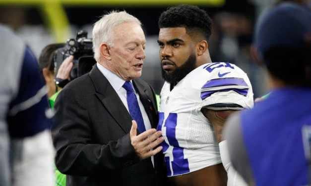 Jerry Jones Comments on Ezekiel Elliott Being Placed in Handcuffs in Vegas