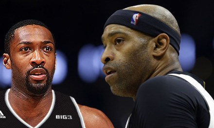 Gilbert Arenas Harshly Responds to Vince Carter Announcing His Return for his 22nd Season