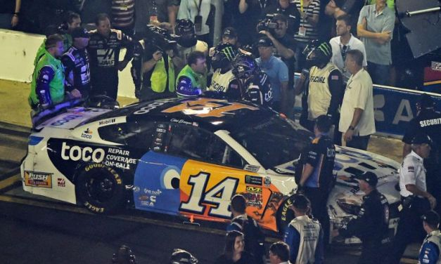 Watch Clint Bowyer Attack Ryan Newman With Punches After NASCAR All-Star Race