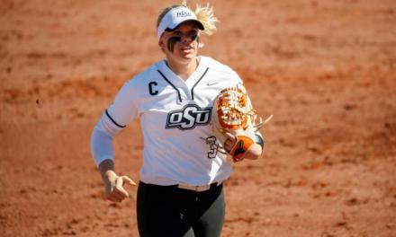 Softball Player's Bat Flip is One for the Ages