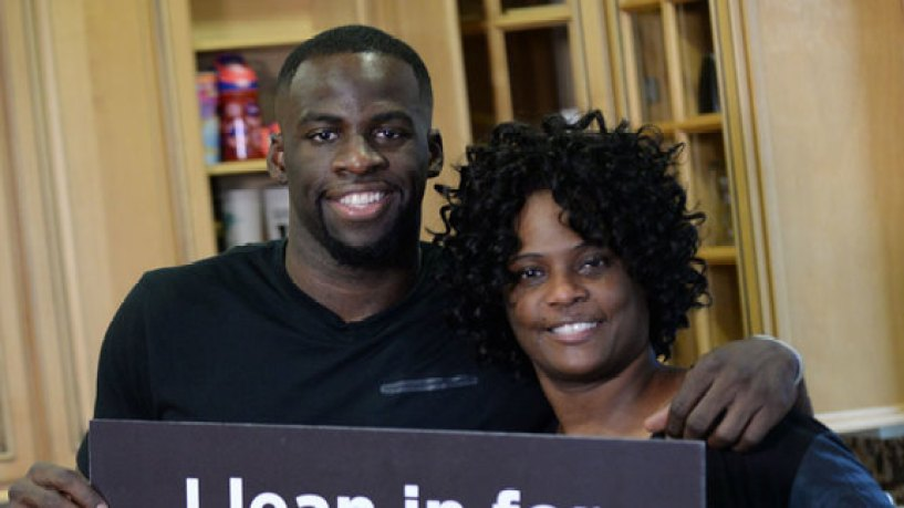 Picture of Draymond  Green Mother, called Steph