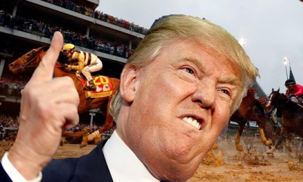 Trump Blames PC Culture for Kentucky Derby Outcome