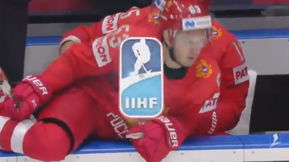 Alex Ovechkin Makes Glove Save to Rescue Teammate From Flying Puck