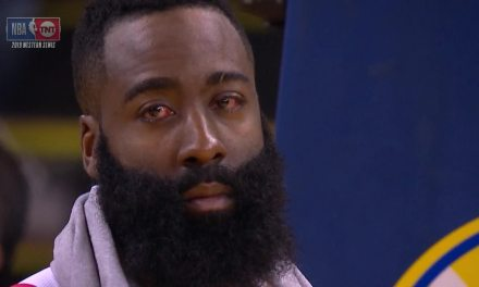 Draymond Green Poked James Harden in Both of His Eyes