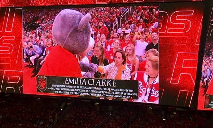 Rockets Lost Game 6 Because Their Mascot Bent the Knee to Khaleesi