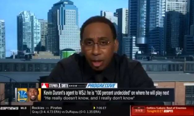 Stephen A. Smith Claims Kyrie Irving Has Been Talking to Kobe Bryant