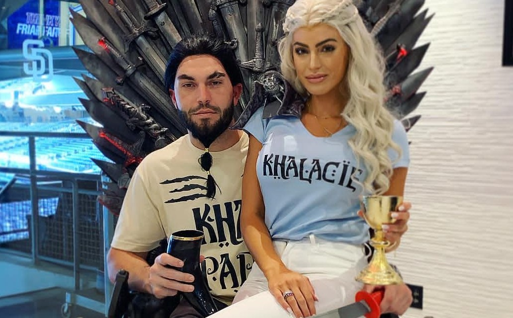 Eric Hosmer and Girlfriend Kacie McDonnell Paid Tribute to Game of Thrones