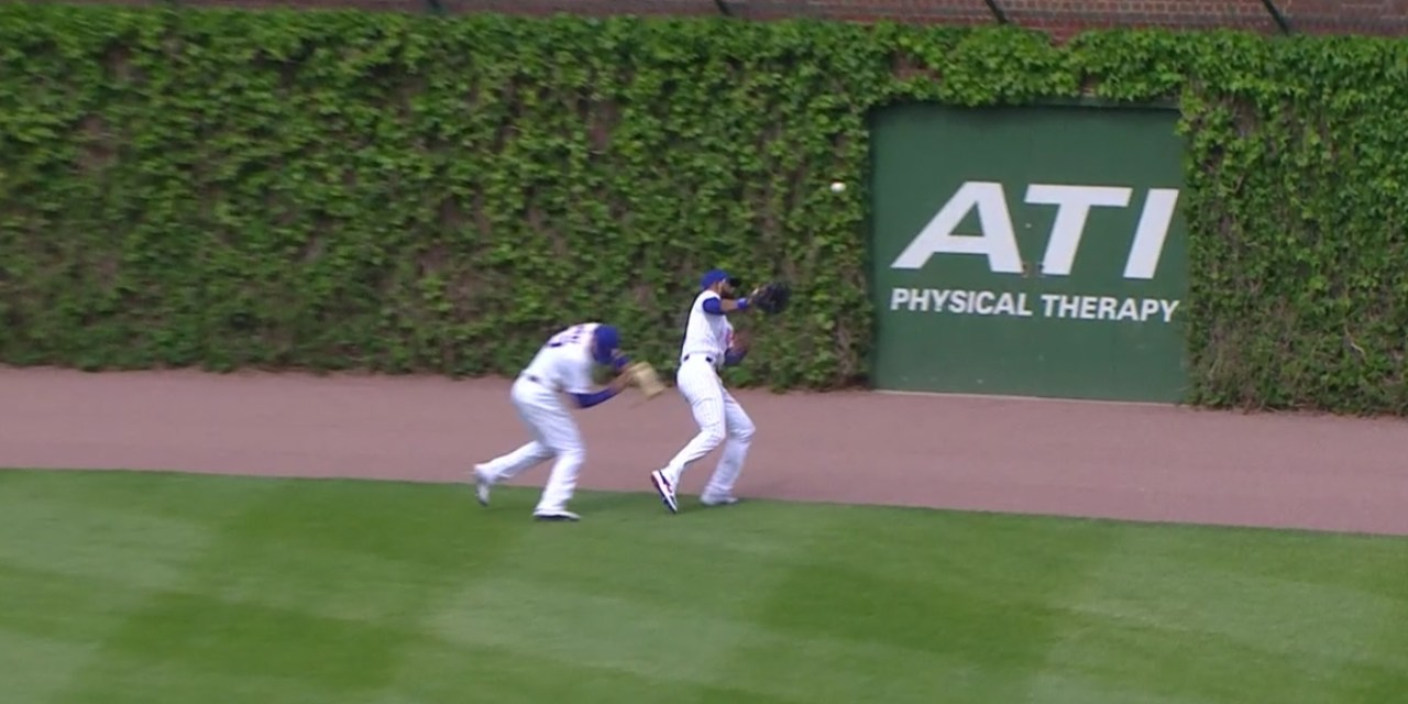 Kris Bryant Suffered a Head Injury During an Outfield Collision with Jason Heyward