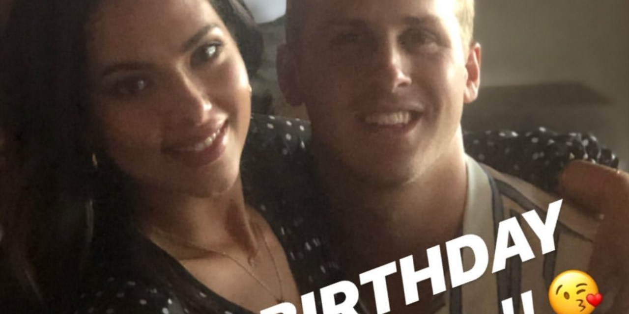 Jared Goff Wished His Model Girlfriend Christen Harper a Happy Birthday