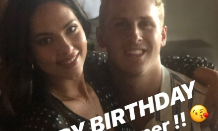 Jared Goff Wished His Model Girlfriend Christen Harper a Happy Birthday