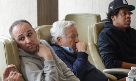 Robert Kraft Meets with Jay Z, Meek Mill and Company