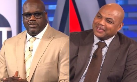 Shaq Threatened to Knock out Charles Barkley on Inside the NBA on TNT