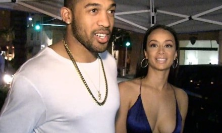 Orlando Scandrick's Fiance Draya Michele Caught Up in Kissing Photo Controversy