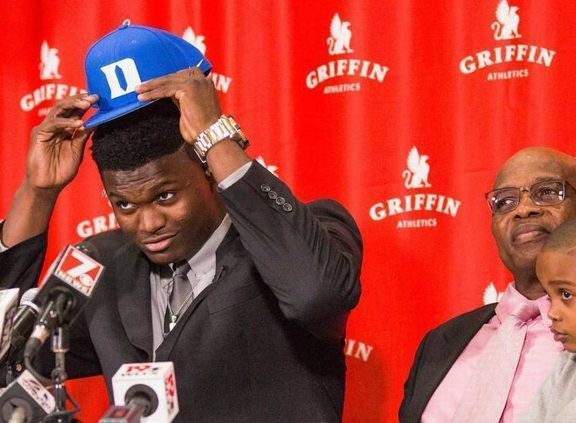 Zion Williamson's Stepfather Lee Anderson Responds to Rumors Of Zion Returning to Duke