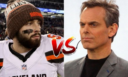 Colin Cowherd and Baker Mayfield Continue Their Feud