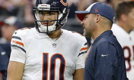 Mitchell Trubisky Call Bears Kicking Competition a 'Fascinating Spectacle'