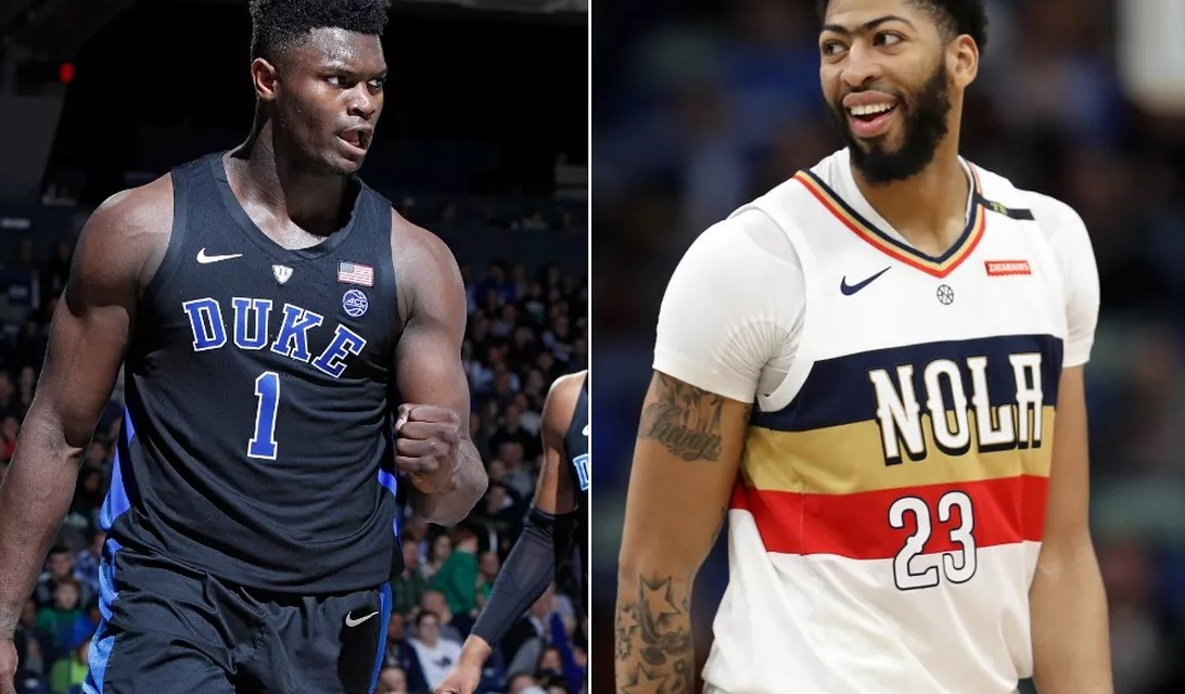 Anthony Davis Appears to Have Already Made His Decision After Pelicans Win Zion Williamson Sweepstakes