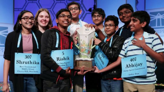 Spelling Bee Ends in Unprecedented 8 Way Tie