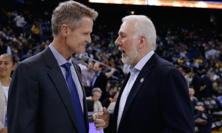 Steve Kerr and Gregg Popovich Spotted Having Dinner this Weekend