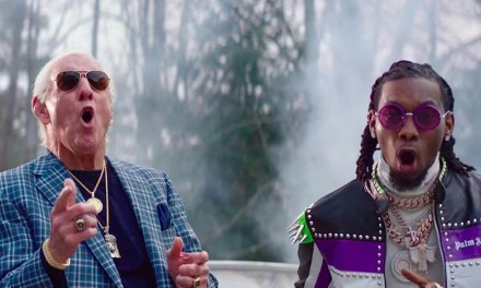 Offset Loses it After Reports Had Ric Flair Dead