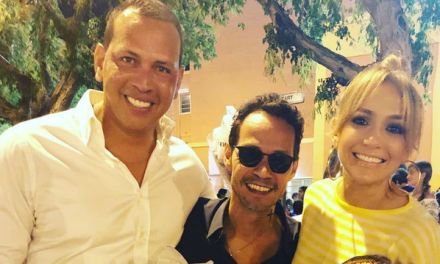 J-Lo, A-Rod and Marc Anthony Reunite at Children's Recital