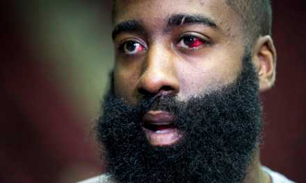 Warriors Players Not Buying James Harden's Eye Injury