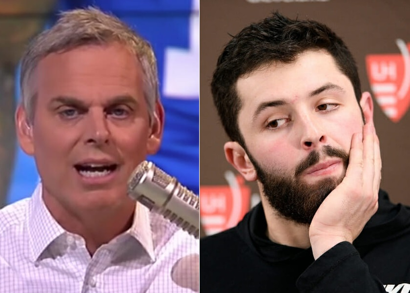Baker Mayfield Explains His Biggest Issue He Has with Colin Cowherd