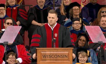 J.J. Watt Delivers Impressive University of Wisconsin Commencement Address